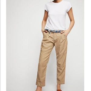 Free People cargo / utility style pants